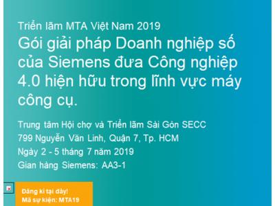 TRIỂN LÃM MTA VIỆT NAM 2019